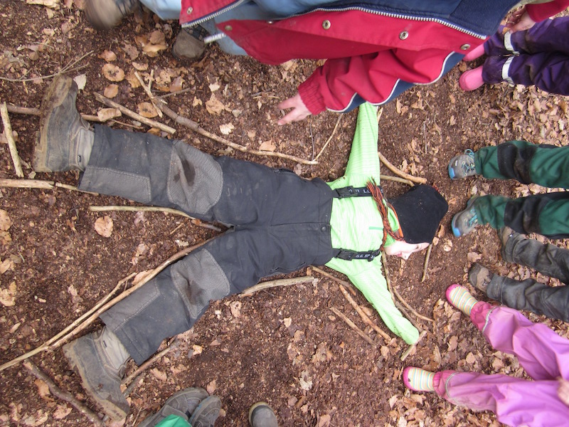 ... Körper basteln, lernen, Arbeitsblätter für Kindergarten und Schule
